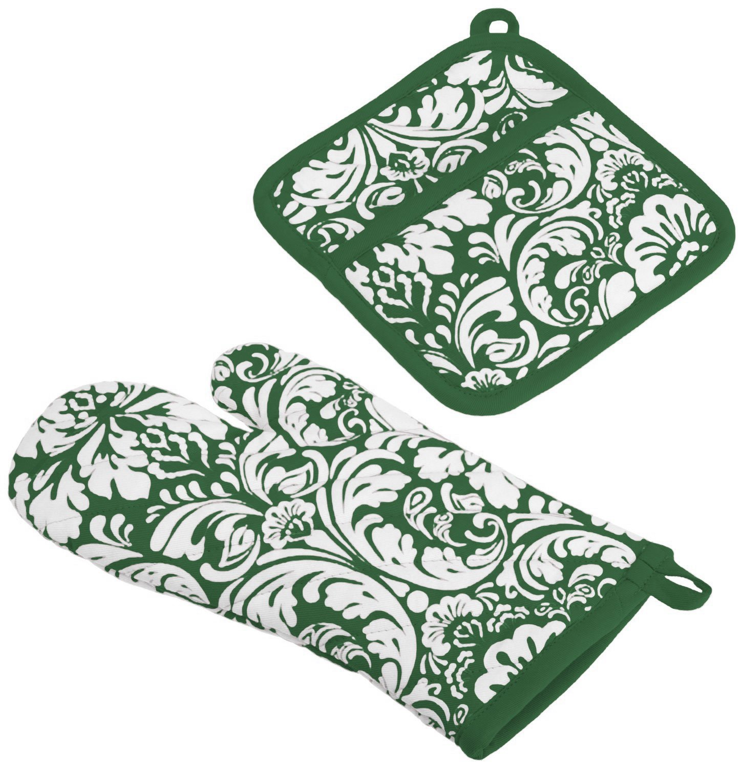 printing cotton apron kitchen towel oven glove pot holder